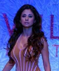 Urmila Matondkar at the grand finale of Wills Lifestyle Fashion Week.