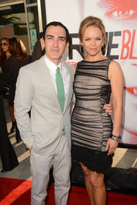 Patrick Fischler and Lauren Bowles at the 5th Season California premiere of