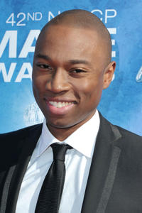 Robbie Jones at the 42nd NAACP Image Awards in California.