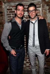 Joe Quinto and Zachary Quinto at the after party of