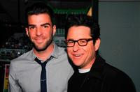 Zachary Quinto and director J.J. Abrams at the 19th Annual Hollywood Charity Horse Show.