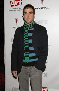 Zachary Quinto at the premiere of
