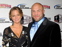 Annie Stanley and Randy Couture at the 3rd annual Fighters Only World Mixed Martial Arts Awards 2010.