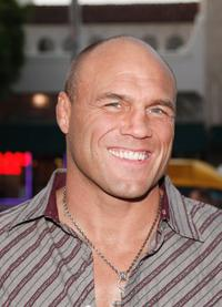 Randy Couture at the special screening of