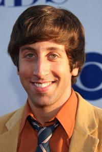 Simon Helberg at the CBS Summer