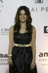 Sarah Shahi at the 4th Dubai International Film Festival.