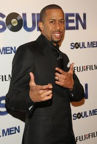 Affion Crockett at the world premiere of