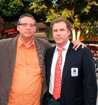 Adam McKay and Will Ferrell at the premiere of