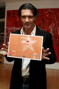 Antonio Banderas at the 57th Berlin International Film Festival for the movie