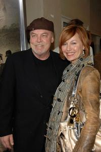 Stacy Keach and Malgosia Tomassi at the premiere of