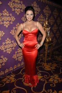 Christa Campbell at the HBO Emmy after party.