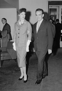 A File Photo of Grace Kelly and Prince Rainier of Monaco, Dated September 01, 1956.