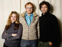 Shoshannah Stern, Ari Gold and Adrian Grenier at the portrait session of