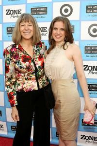Mimi Kennedy and Anna Chlumsky at the opening night gala premiere of