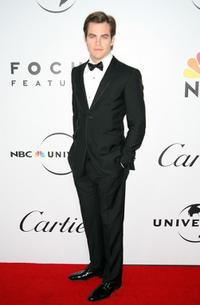 Chris Pine at the NBC, Universal Pictures and Focus Features' official after party during the 66th Annual Golden Globe Awards.