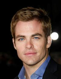 Chris Pine at the California premiere of