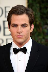 Chris Pine at the 66th Annual Golden Globe Awards.