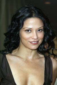 Navi Rawat at the lunch in honor of Ginnifer Goodwins MaxMaras Face of the Future Award.