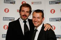 Angus Sampson and Leigh Whannell at the Inside Film (IF) Awards.