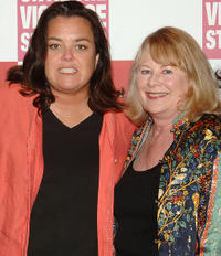 Rosie O'Donnell and Shirley Knight at the V-Day Presentation of Any One Of Us: Words From Prison in New York.