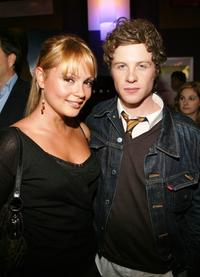 Beatrice Rosen and Ashton Holmes at the premiere of
