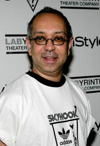 George C. Wolfe at the 3rd Annual Benefit of Labyrinth Theater Company.
