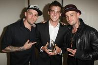 Joel Madden, Ryan Sheckler and Joel Madden at the Cedars Sinai Medical Center's 24th Annual Sports Spectacular.