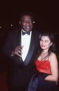 Yaphet Kotto and his wife at the BACS (Black American Cinema Society) Awards.