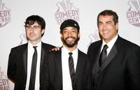 John Oliver, Wyatt Cenac and Rob Riggle at the Comedy Central's Emmy Awards.