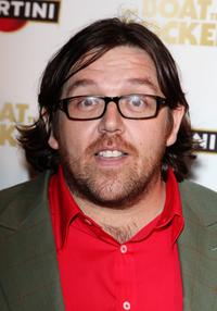 Nick Frost at the world premiere of