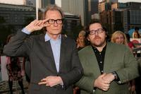 Bill Nighy and Nick Frost at the Australian premiere of