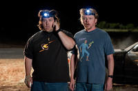 Nick Frost as Clive and Simon Pegg as Graeme in