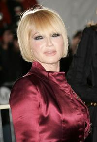 Ellen Barkin at the Metropolitan Museum of Art Costume Institute Benefit Gala