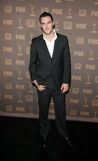 Owain Yeoman at the after party of 20th Century Television Fox Emmy.