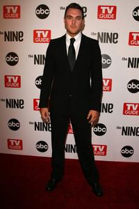 Owain Yeoman at the premiere of