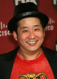 Bobby Lee at the Fox Fall Eco-Casino party.