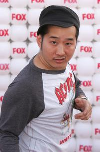 Bobby Lee at the Fox All-Star Television Critics Association party.