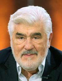 Mario Adorf at the 173rd edition of the German TV show 'Wetten, dass..?' (Let's Make a Bet).