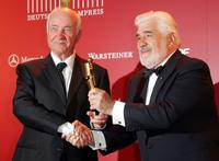 Mario Adorf and Armin Mueller-Stahl at the German Film Award.