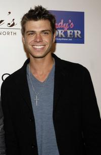 Matthew Lawrence at the Grand Opening of Guy's North, the latest venture from Guy Starkman.