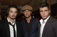 Joseph Lawrence, Matthew Lawrence and Guest at the Hollywood Reporter Celebrate the Holidays with a Shopping party.