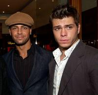 Joseph Lawrence and Matthew Lawrence at the Hollywood Reporter Celebrate the Holidays with a Shopping party.