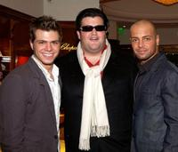 Matthew Lawrence, Jason Davis and Joseph Lawrence at the Hollywood Reporter Celebrate the Holidays with a Shopping party.