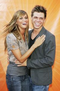 Heidi Mueller and Matthew Lawrence at the NBC's 2005 All Star Celebration of TCA Summer Tour.
