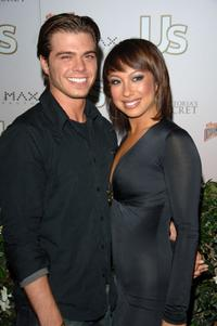 Matthew Lawrence and Cheryl Burke at the Us Hollywood 2007 Party.