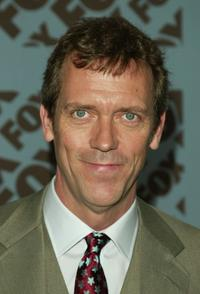 Hugh Laurie at the Fox upfront.
