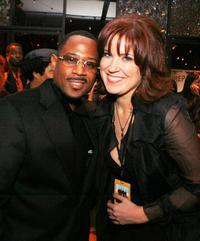 Martin Lawrence and Kristin Burr at the after party of the premiere of