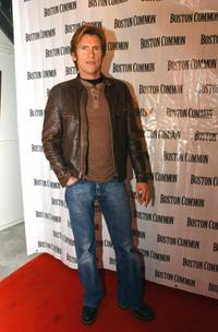 Denis Leary at the Boston Common Magazine's holiday season party.