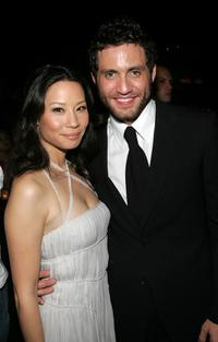 Lucy Liu and Edgar Ramirez at the after party of the premiere of