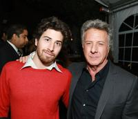 Jake Hoffman and Dustin Hoffman at the screening of